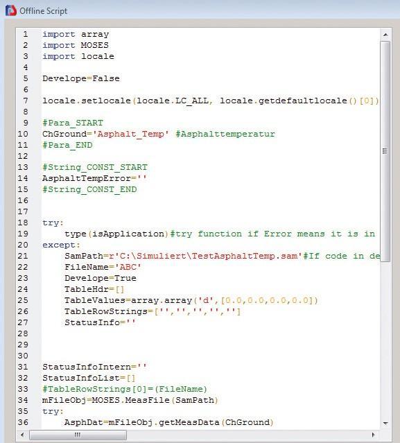 Python Interface